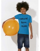 "T-shirt ""Natural born rider"""