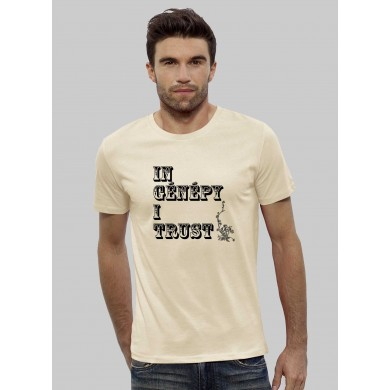 "T-shirt ""In Génépy i trust"""